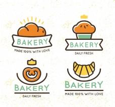 面包店矢量素材