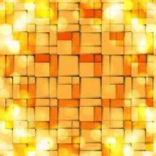 摘要橙色亮背景