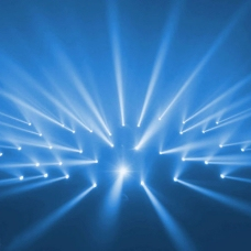 蓝色科技商务模板