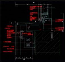 玻璃幕墙CAD图纸