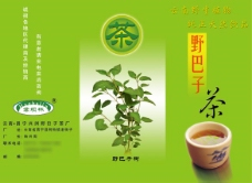 茶叶宣传三折页