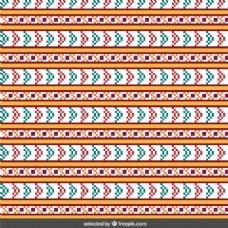 抽象彩色缝图案