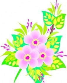 花朵 花草 鲜花 矢量 EPS格式_0010