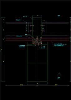 幕墙横剖节点图CAD图纸