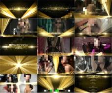 华美绚丽星光闪耀的颁奖盛典AE包装模板