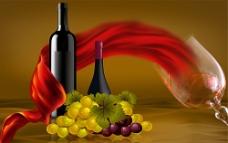 红酒海报 葡萄酒海报
