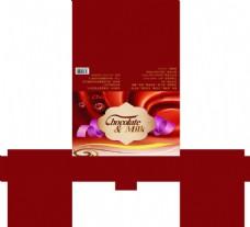 巧克力包装图片模板下载