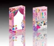 芭比娃娃包装设计   包装素材