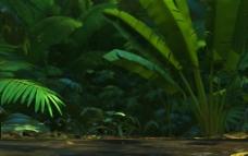 绿色清新植物叶子背景大图