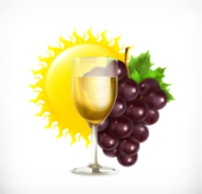 葡萄 葡萄酒图片