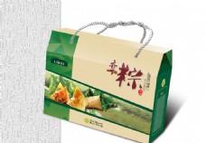 粽子礼盒包装设计矢量素材