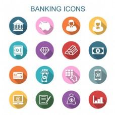 银行金融图标