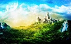 森林 城堡