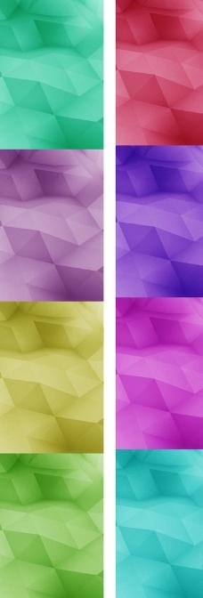 水晶分割绚丽背景图片