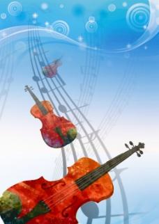 弦樂音樂會海報設計