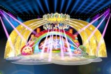 少儿节目舞台设计