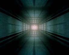 隧道空间视频素材
