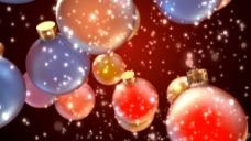 圣诞彩球视频素材