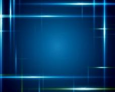 游走蓝色光线空间素材视频素材