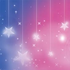 梦幻星星背景