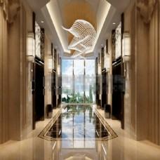 客房电梯间
