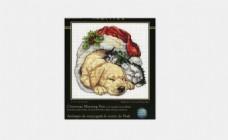 DIM08826 圣诞猫与狗CHRISTMAS MORNING PETS