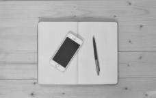 黑白iphone5 vi模板图片