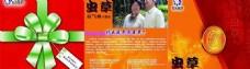 虫草3折页宣传单正面图片