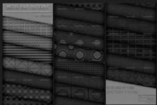 超酷的金属板和网点背景填充图案