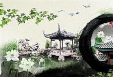 中国风海报模板 分层PSD