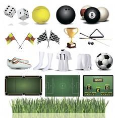 球类运动设计素材
