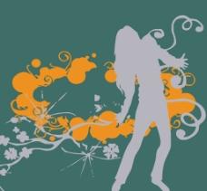 花纹人物图案设计图片