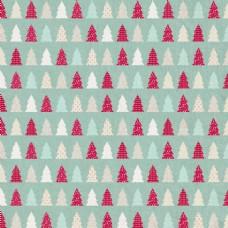 圣诞树拼接背景