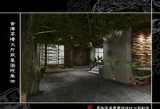 茶楼大厅C视角图片