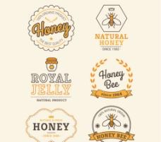 创意蜂蜜 标签图片