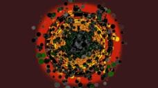粒子光斑视频素材