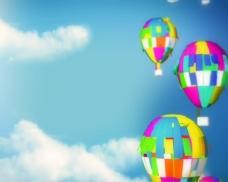 庆典气球装饰素视频素材
