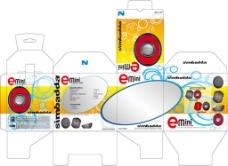 产品包装盒设计模板