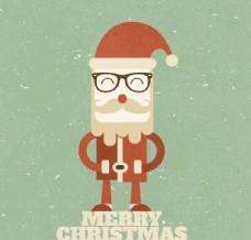 复古圣诞老人