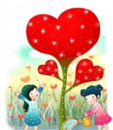 快乐儿童 卡通漫画 韩式风格 分层 PSD_0141