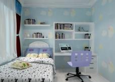 地中海  儿童房图片