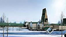长白山贵宾接待中心设计方案 设计方案 DWG_0001