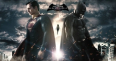 超人大战蝙蝠侠图片