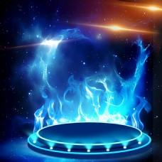 淘宝火焰背景