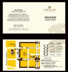 酒店慢跑路线图图片
