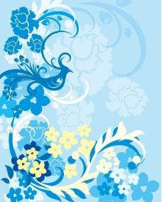蓝色凤凰图片