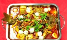 巫山烤鱼图片