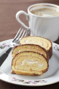 咖啡蛋糕高清图片