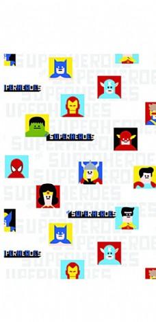 卡通 彩色 复仇者联盟图片