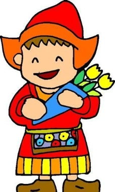 漫画儿童 卡通人物 矢量 AI_0042
